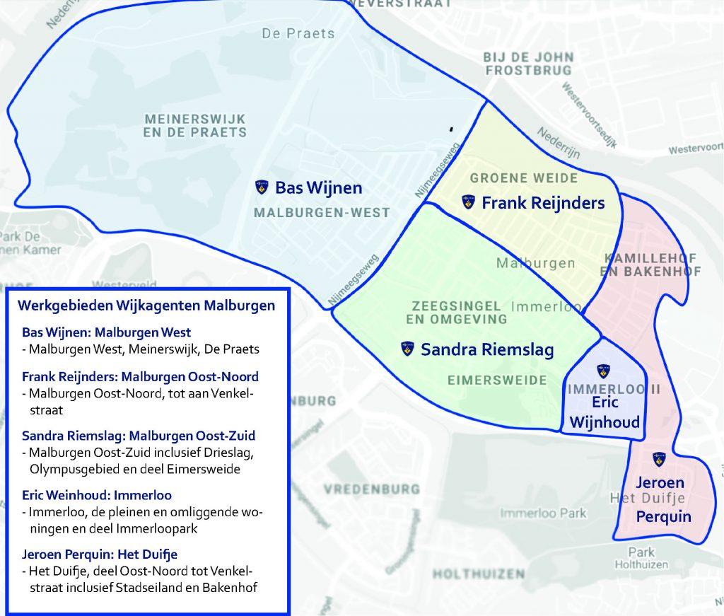 map wijkagenten